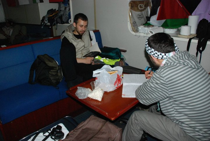 He boarded the Mavi Marmara, set sail from Istanbul, along with the other aid volunteers gathered in Antalya.